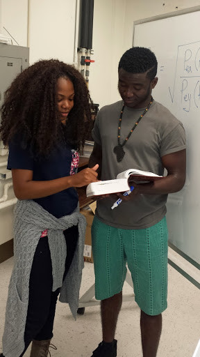 Morolake Omoya (UCLA) and Kofi Afriyie (Morgan State): UCLA CEED RISE-UP Program, Summer 2016