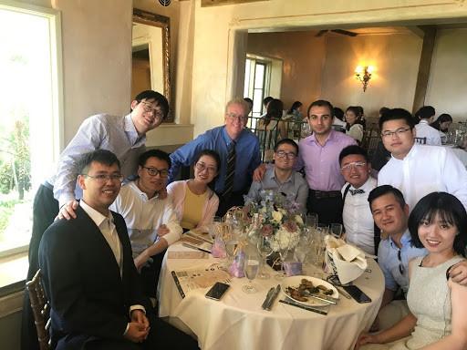 UCLA Graduate Students with Professor Wallace: Han Sun's Wedding, Summer 2019