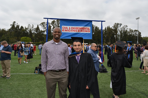 Henry Burton and Mehrdad Shokrabadi:  UCLA Commencement, 2018