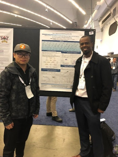 Yu Zhang and Henry Burton: NEURIPS 2019 Poster Session, Vancouver, Canada