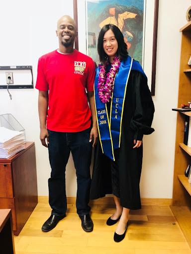 Hua Kang and Henry Burton: UCLA Commencement, 2018