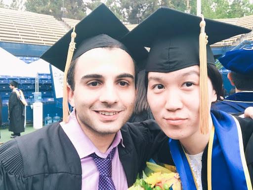 Hua Kang and Mehrdad Shokrabadi:: UCLA Commencement, 2018