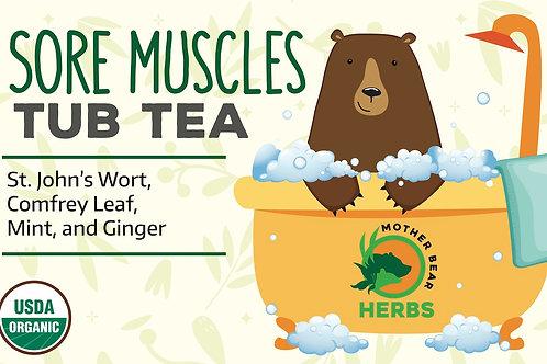 Sore Muscles Tub Tea