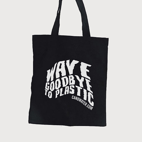 Wave Goodbye to Plastic Tote Bag