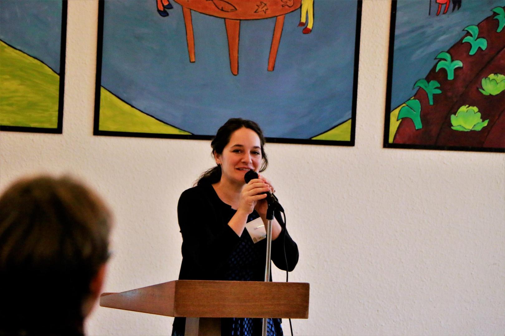 Amelia speaking stage.jpg