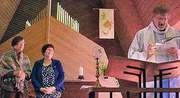 Judy Johnson Installed as Parish Nurse at Hope Lutheran in Lynden