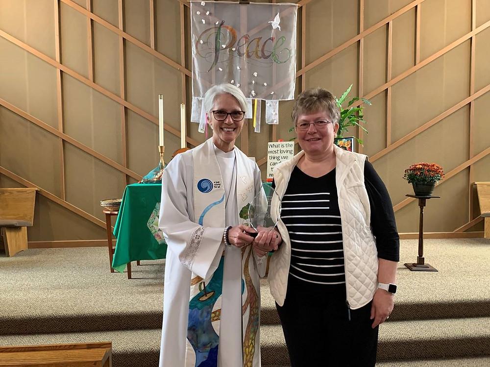 Health Ministries Network Spirit of Giving 2019 Angel Awards Clergy Champion Faith Community Nurse Health Minister Parish Nurse Bellingham Washington