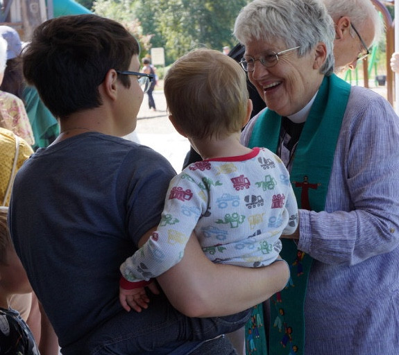 Rev. Marsha Volkommer, Associate Priest for pastoral care, St. Paul's Episcopal, Bellingham