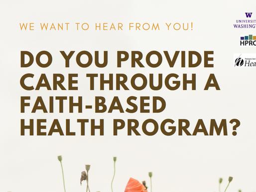 This Summer: Researchers Seeking Faith Community Nurses for Interviews