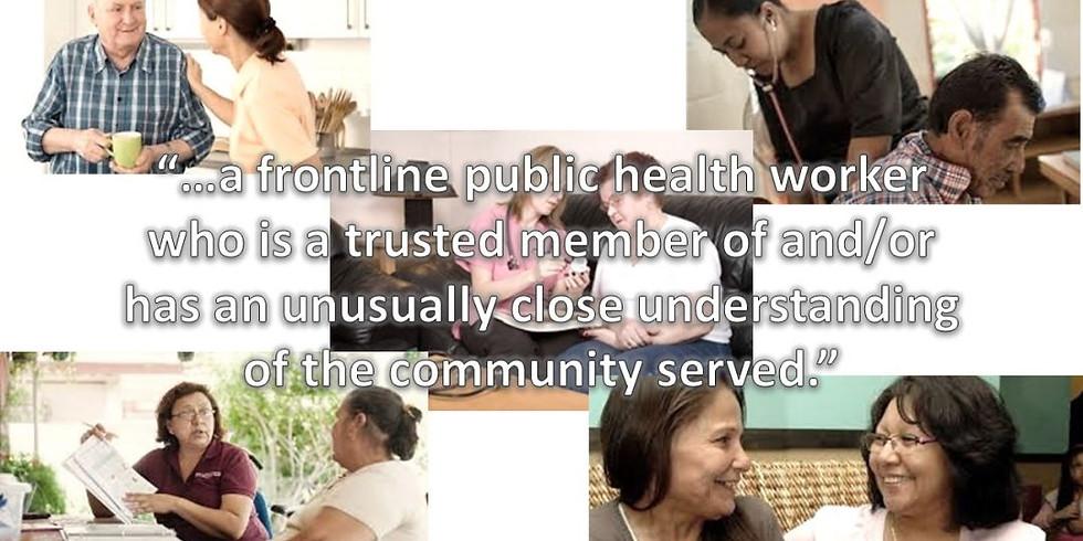 Whatcom Community Health Worker Network Meeting