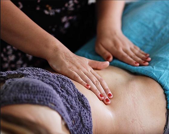 Womb massage