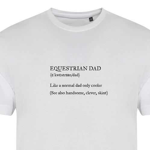 Equestrian Dad Tshirt