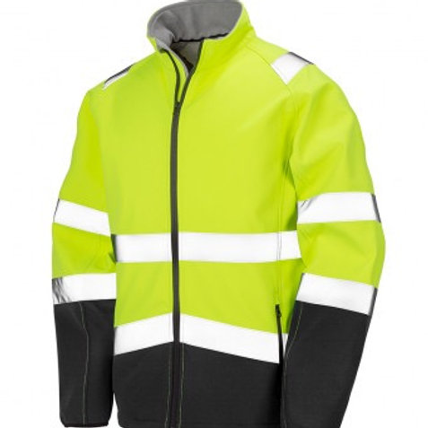 Soft Shell High Visibility Jacket