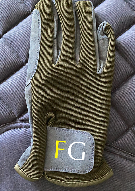 Fox Grant Riding Gloves Navy