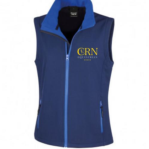 CRN Equestrian Soft Shell Gilet