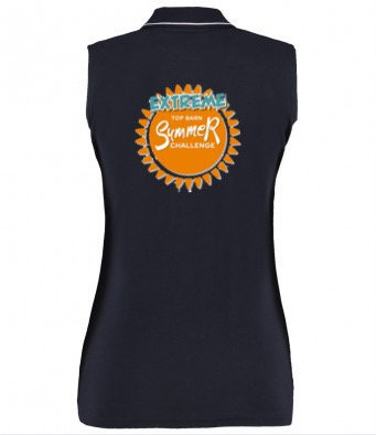 Top Barn EXTREME Summer Challenge Ladies Sleeveless Polo Shirt