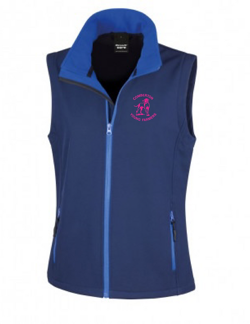 Comberton Young Farmers Soft shell gilet