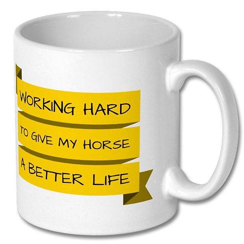 Working Hard Mug