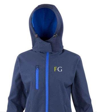 Fox Grant Hooded Soft Shell Jacket