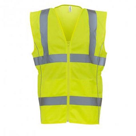 Ladies Eco High Visibility Wasitcoat