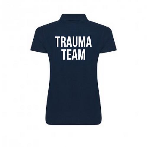 Royal Stoke University Hospital Navy Polo Shirt