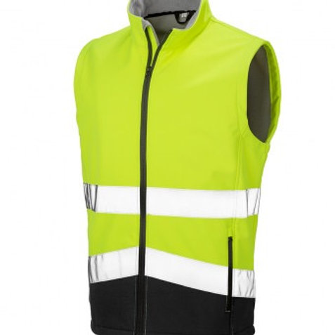 Soft Shell High Visibility Gilet