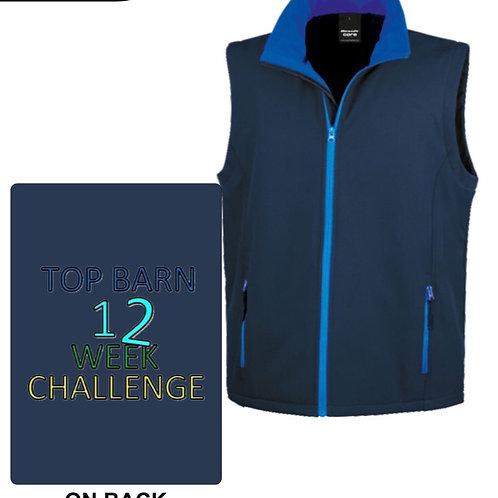 12 Week Challenge Soft Shell Gilet