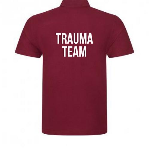 Royal Stoke University Hospital Cranberry Polo Shirt