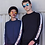 Thumbnail: Unisex Contrast Raglan Sweatshirt