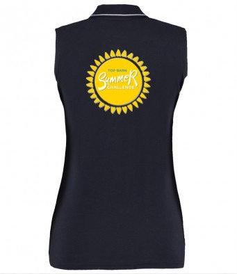 Top Barn Summer Challenge Ladies Sleeveless Polo Shirt