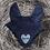 Thumbnail: Sparkle Heart Personalised Ear Bonnet
