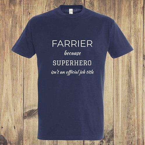 Farrier t-shirt