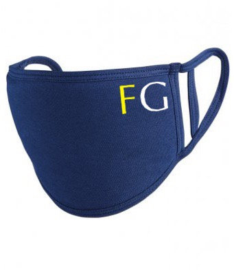 Fox Grant Washable Face Covering Navy