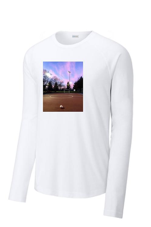 Futsal Shirt, Long Sleeve Dry-Fit, Men's