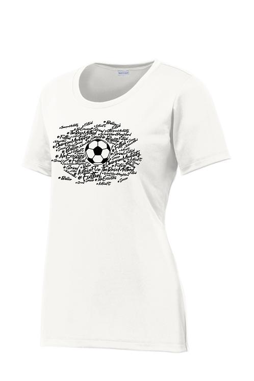 Baller Shirt, Short Sleeve Dry-Fit, Crew Neck, Women's