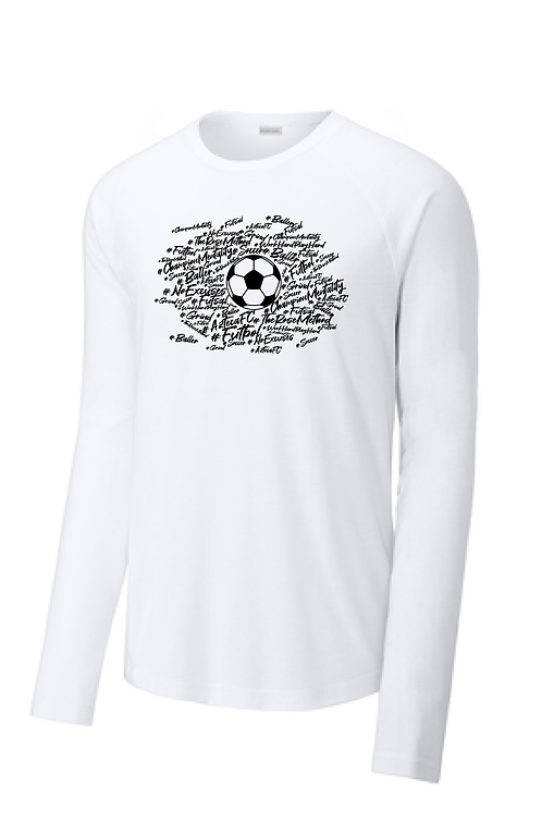 Baller Shirt, Long Sleeve Dry-Fit, Men's