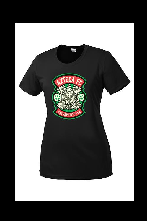 Shirt, Short Sleeve Dry-Fit, Crew Neck, Women's