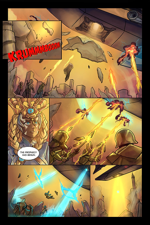 Dre Saturn: Child of The Orb (Issue#1)