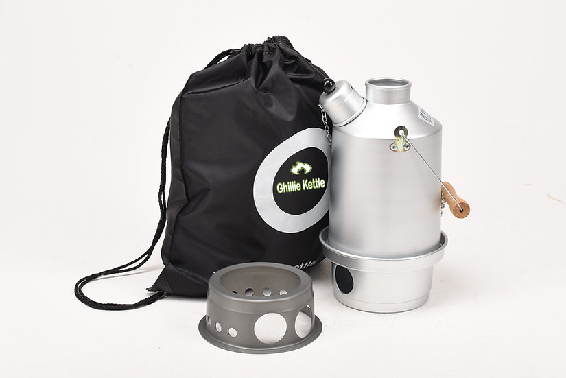 THE EXPLORER & HOBO STOVE - SILVER ANODISED