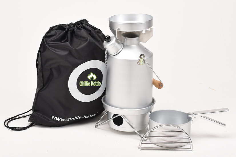 THE EXPLORER & COOK KIT - SILVER ANODISED