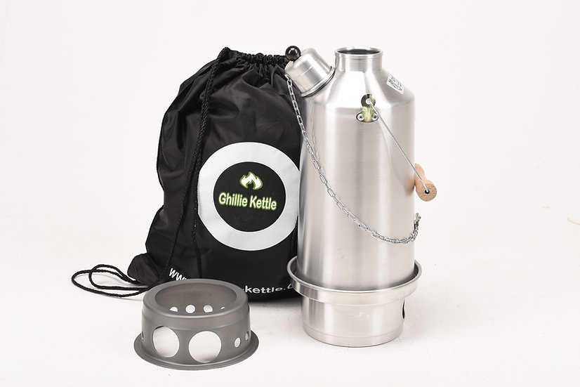 THE ADVENTURER & HOBO STOVE - ALUMINIUM