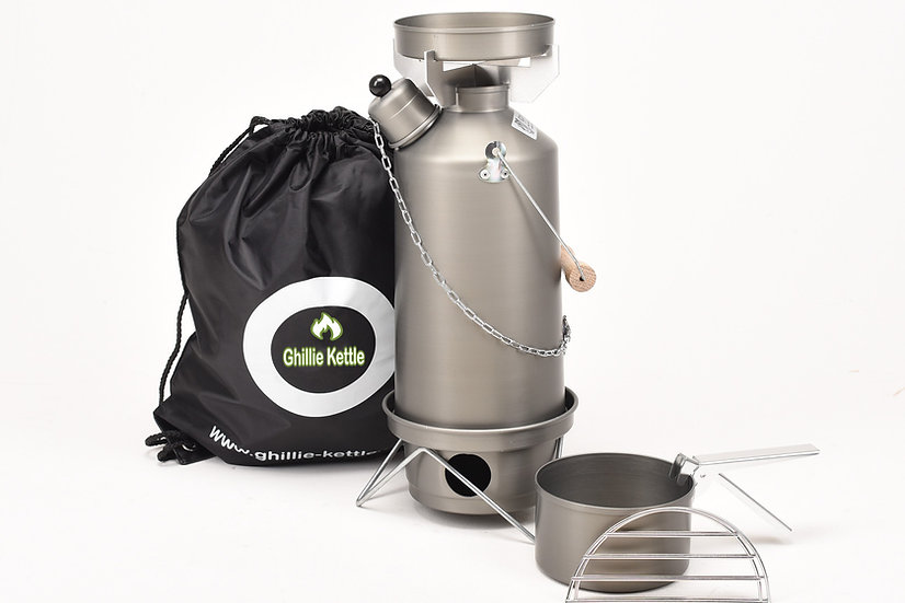 THE ADVENTURER & COOK KIT - HARD ANODISED