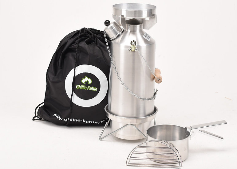 THE ADVENTURER & COOK KIT - ALUMINIUM