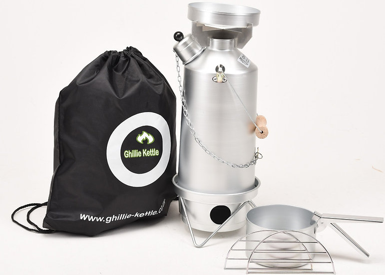 THE ADVENTURER & COOK KIT - SILVER ANODISED