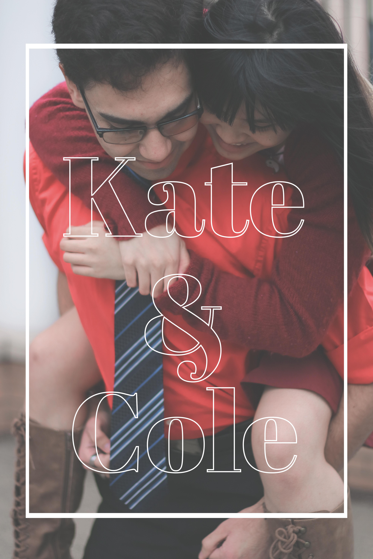 Kate & Cole Title