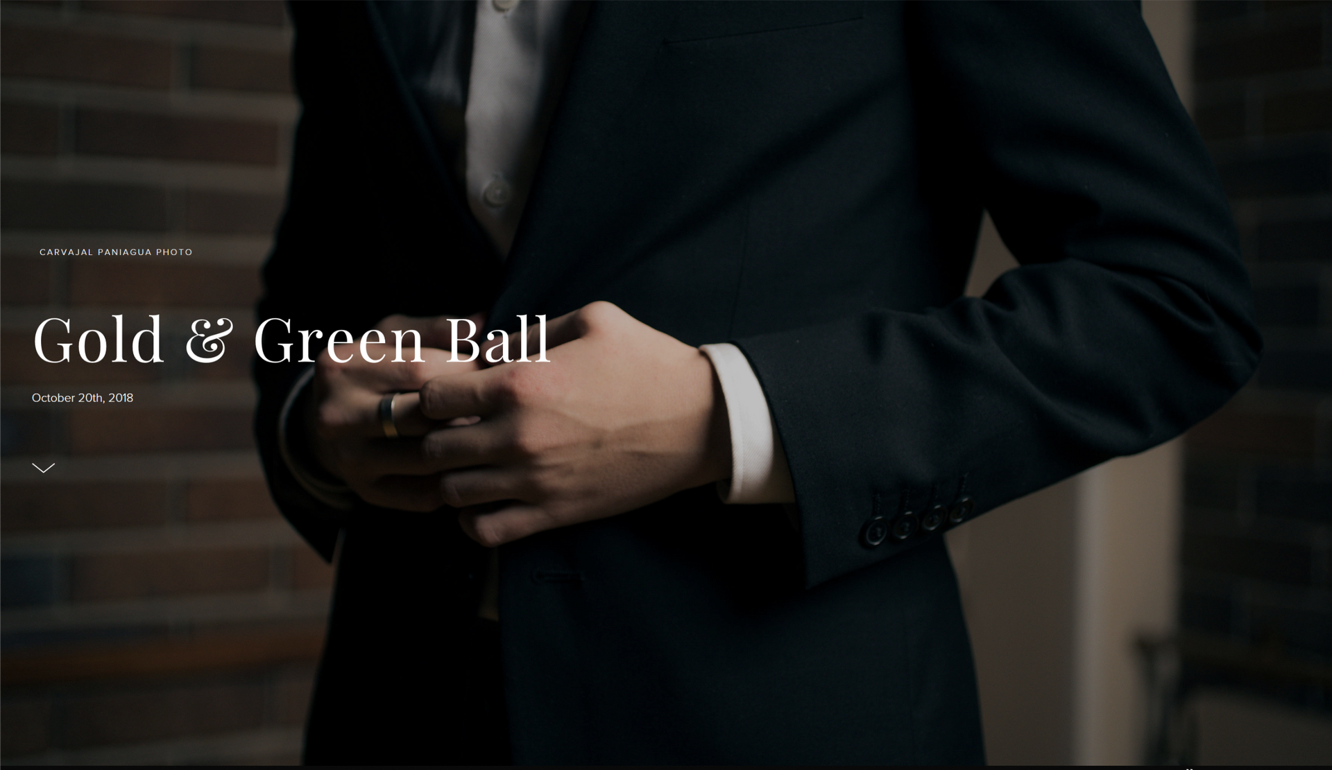 Gold & Green Ball