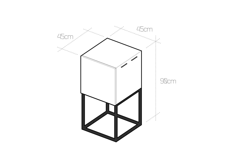 Módulo ao Cubo. Móvel pequeno espaço
