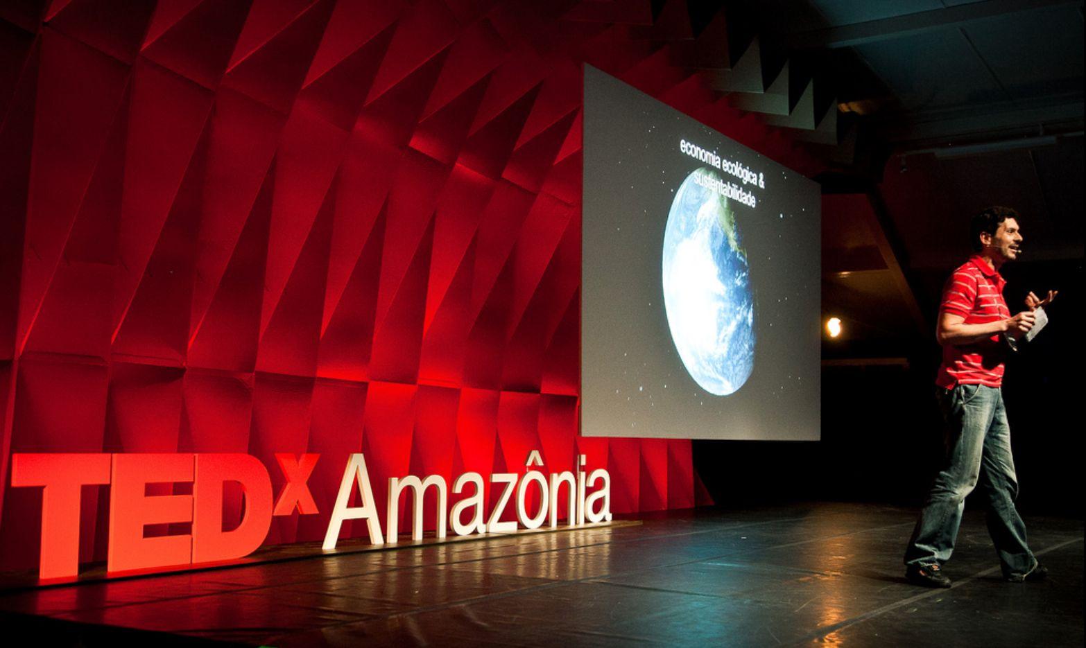 Cenografia Imersiva - TEDx Amazônia