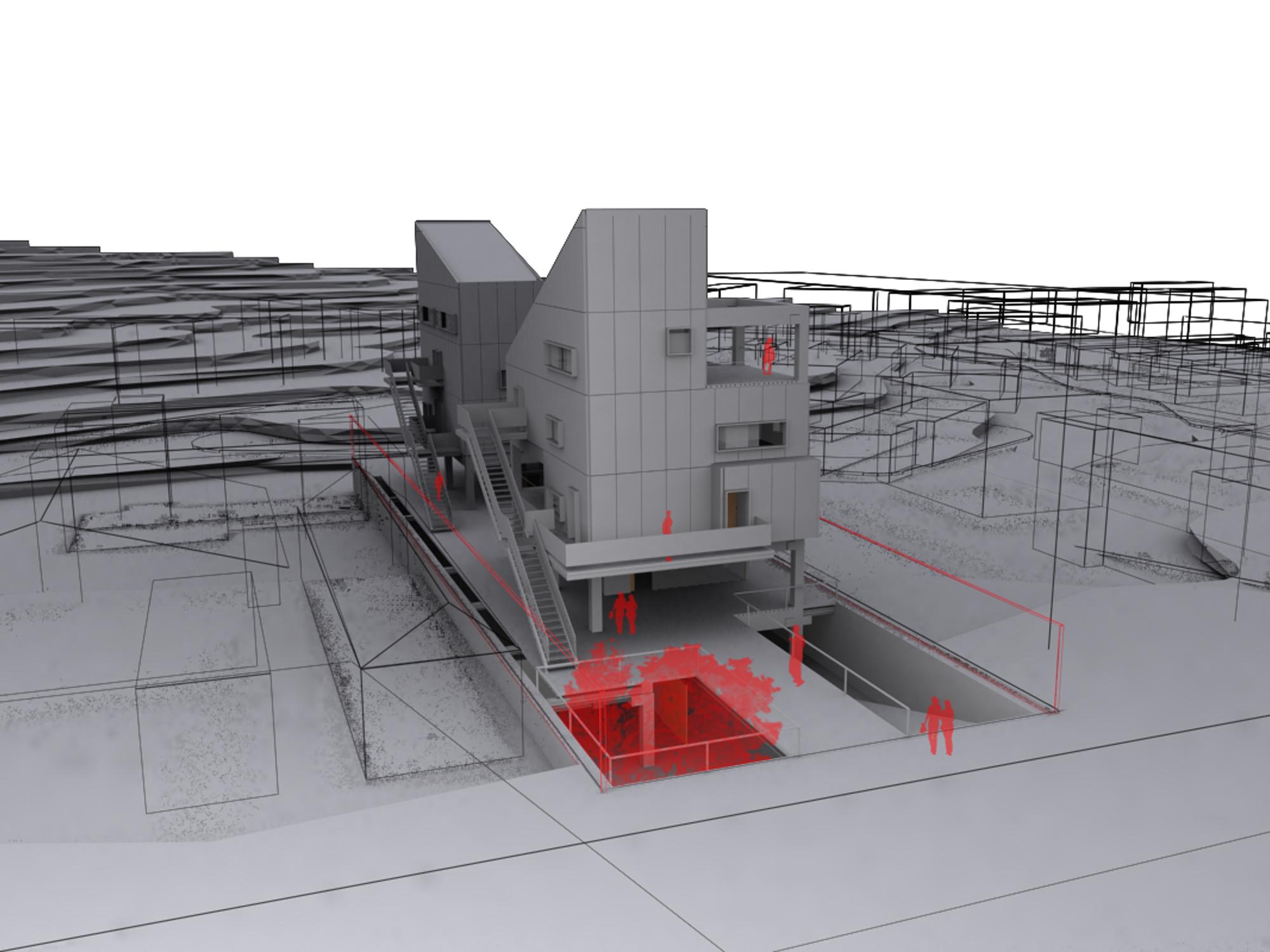 Habitabitação.  Edificio residencial