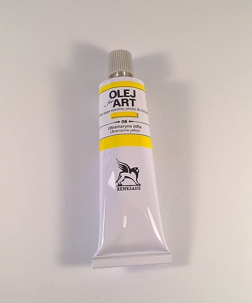 RENESANS Маслена боя 60 ml, 008 Ultramarine Yellow